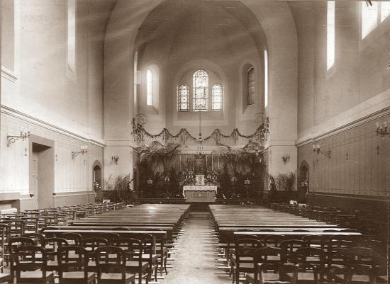 La Chapelle le 14 mai 1908