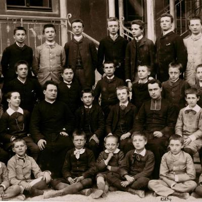 La plus ancienne photo de promotion 1883-84