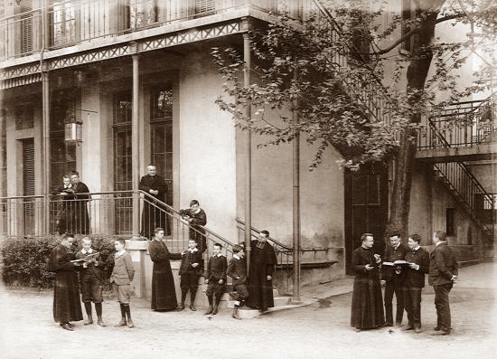 Le Centre Ozanam en 1904