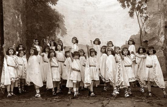 Les fêtes panhélleniques - matinée récréative du 27 février 1906