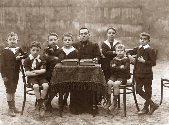 Les plus jeunes en 1910