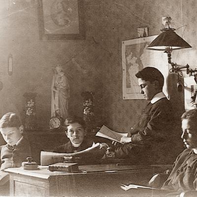 une chambre au début du 20ème siècle