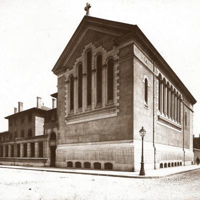 Vue extérieure de la Chapelle en 1910