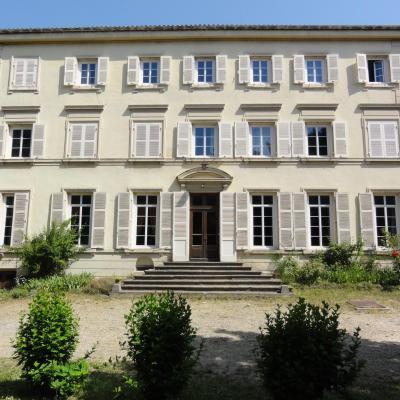 Maison de Chavril : la façade